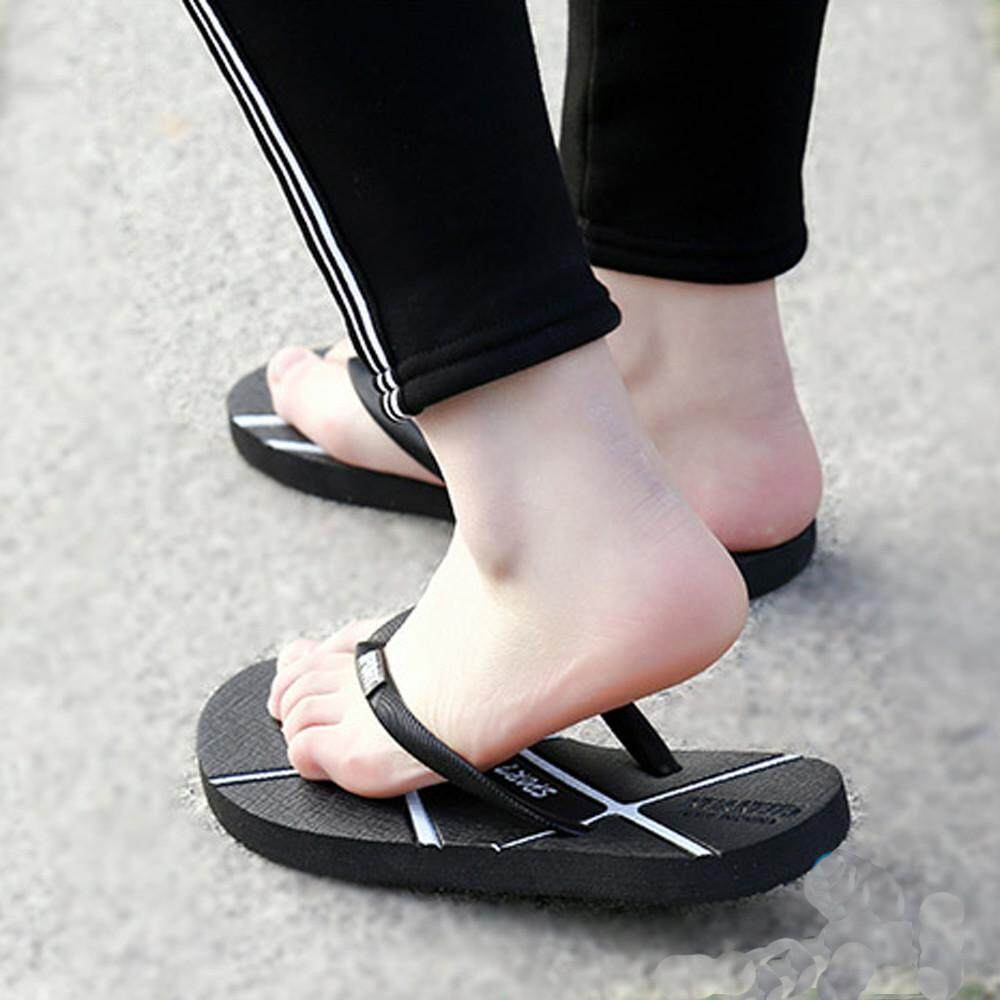60a38c0d697e STIN Unisex Men s Summer Women S Flip-flops Slippers Beach Sandals Leisure  Shoes