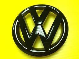 VW福斯 LOGO MARK 水箱罩標誌 GOLF 6 VI GTI TSI TDI CL 前+後標誌一組800元 亮黑