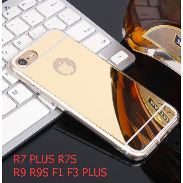 OPPO R7 PLUS R7S R9 R9S F1 F3 PLUS Mirror Cover Case Casing