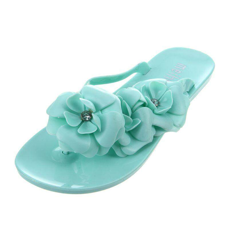 aae769617b5f Summer style shoes for women Slippers New Flip Flops Women Sandals Female Sandals  flower jelly sandals