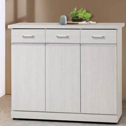 夢想居家屋:星風4尺鞋櫃 置物櫃 收納櫃 玄關櫃 邊櫃 實木櫃 SC-1604-K02