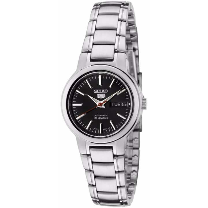 ... Silver Stainless Steel Case Stainless Steel Bracelet Mens JAPAN SNK571J1. Source · Seiko Automatic Classic SYME43 SYME43K1 SYME43K Women's Watch