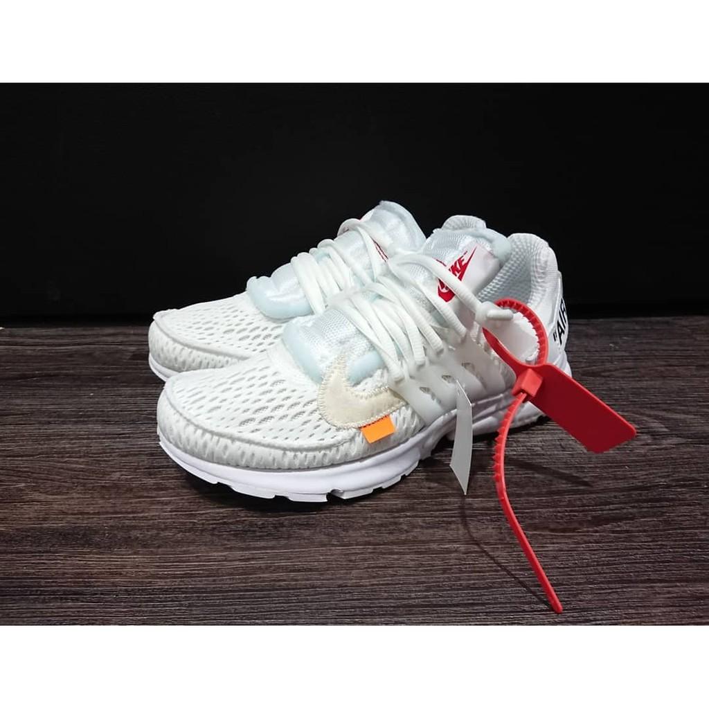 55445c5f0d495 Nike Off White OW The Ten Air Presto 全白AA3830-100