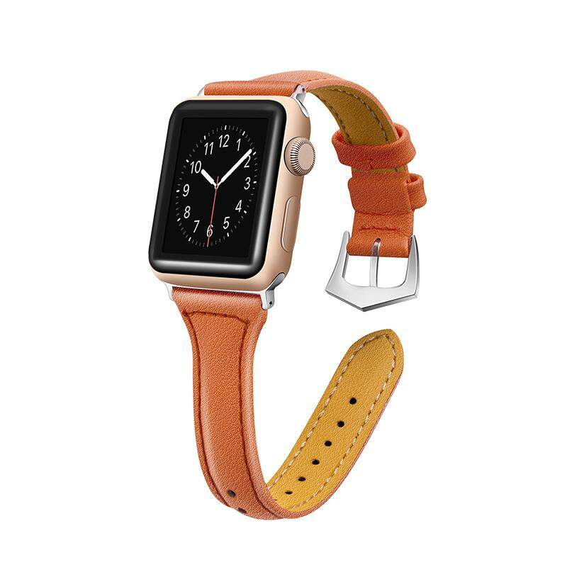 Ishowmall For Apple Watch Band Genuine Leather Wrist Strap 38/42mm iWatch Series 3/