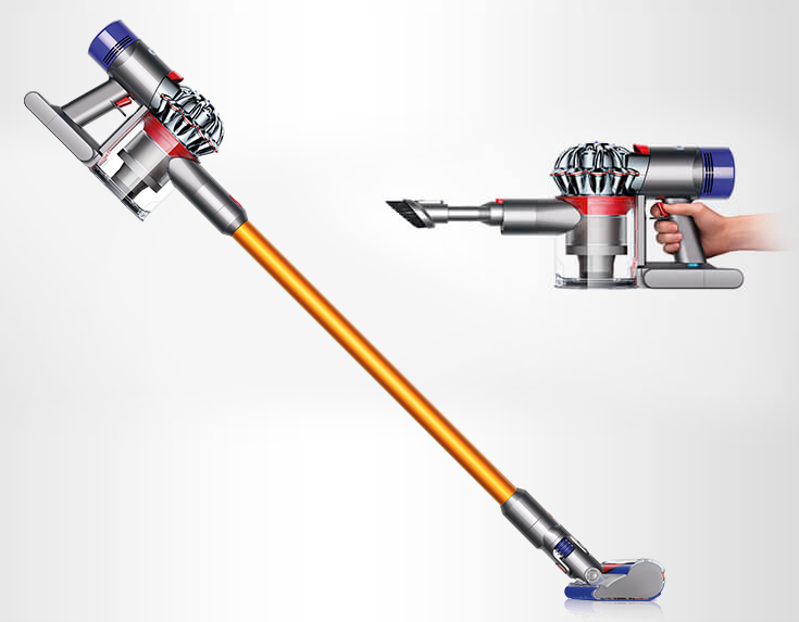 how to clean dyson v8
