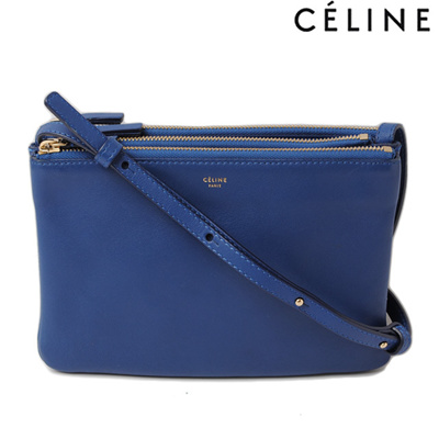 e2cb7a46f9 Celine shoulder bag   clutch bag CELINE 165113ETA.06 BB TRLO BAG   Trio Blue