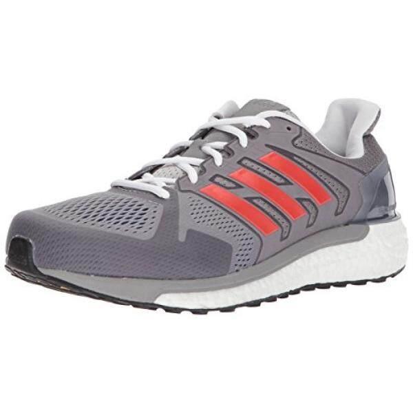 best sneakers 14b81 f0152 adidas Performance Mens Supernova ST Aktiv Running Shoe, Grey One Hi-Res Red
