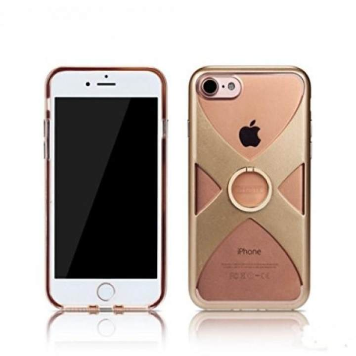 Losin iPhone 7 / iPhone 8 4.7 Inch Case Ultra Thin Luxury Fashion X Type 360