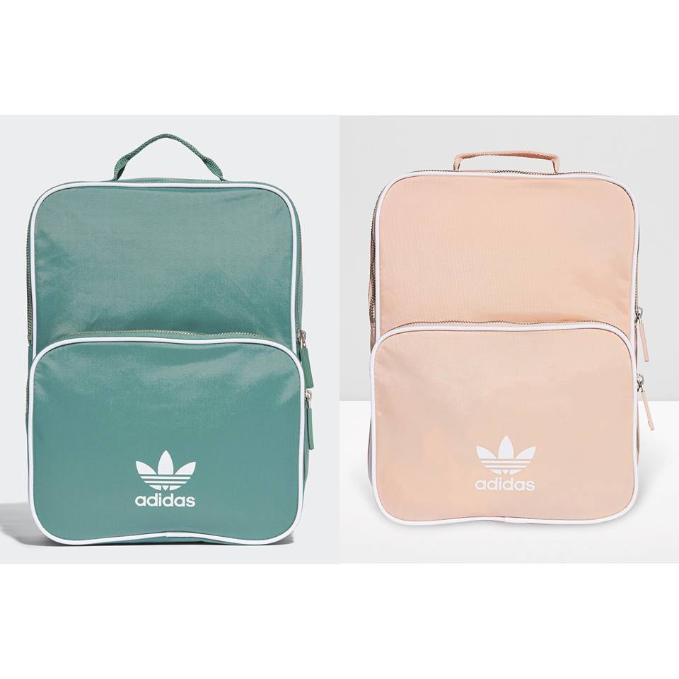 Banana Store  現+預Adidas Medium Backpack 粉綠後背包CQ0623  fc2774532494d