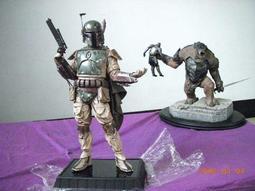 GENTLE GIANT 星際大戰 波巴費特雕像(非SIDESHOW 壽屋)