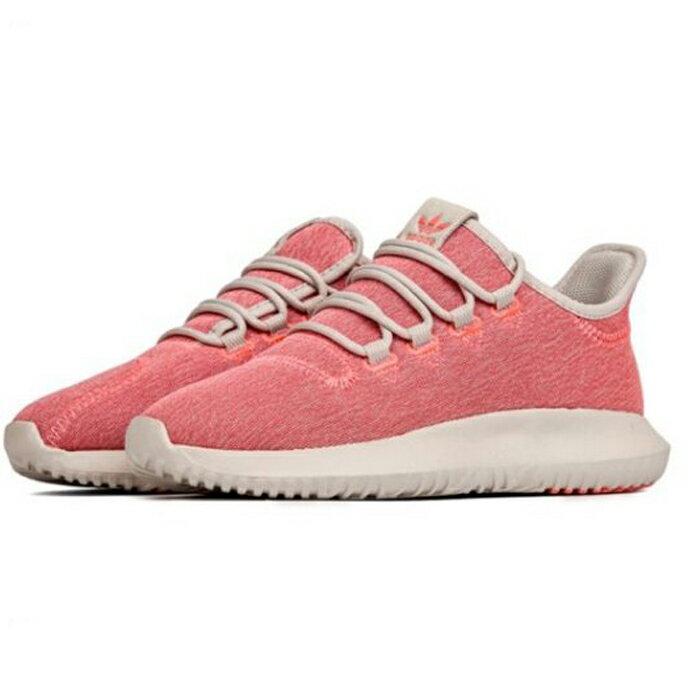 eb98c6fbc Adidas Tubular Shadow W 女鞋慢跑休閒小350 襪套潮流粉紅 運動世界