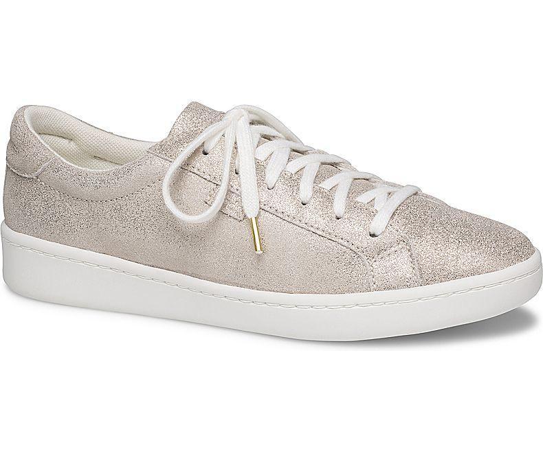 9664a93ca65da Keds Ace Glitter Suede Women s Sneakers Champagne (WH59004)