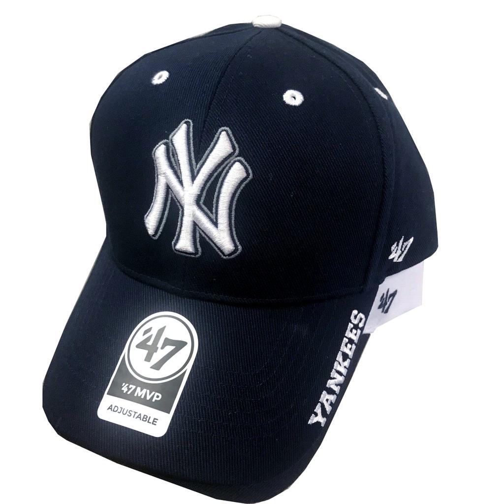 ddef806388432 New 47 brand NY 洋基棒球帽LA 運動電繡LOGO老帽Tommy Hilfiger
