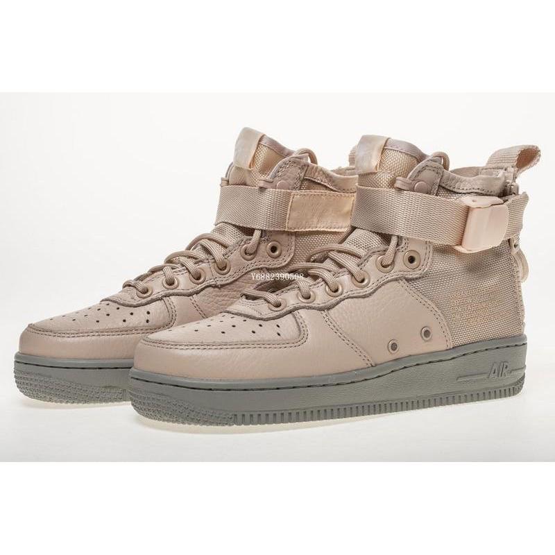 "Nike Special Field Air Force 1 Mid ""Orange Quartz""粉色中幫拉鏈休 91f95122624e"