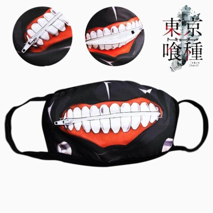 White Eye Patch Single-Eyed Japanese Prop Anime Tokyo Ghoul Kaneki Ken Cosplay