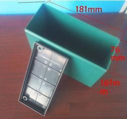 18650/26650電池盒/電瓶盒大小2款12V 20AH/12AH 鋰電外殼 鋰電池用 內部無格 盒 鋰電盒 綠色