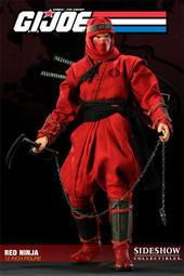 Sideshow Ninja 紅忍者 全新未拆
