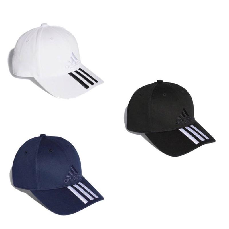 限時搶購延長ADIDAS 三條線老帽黑S98156 白BK0806 藍BK0808 d2db8ab3df12
