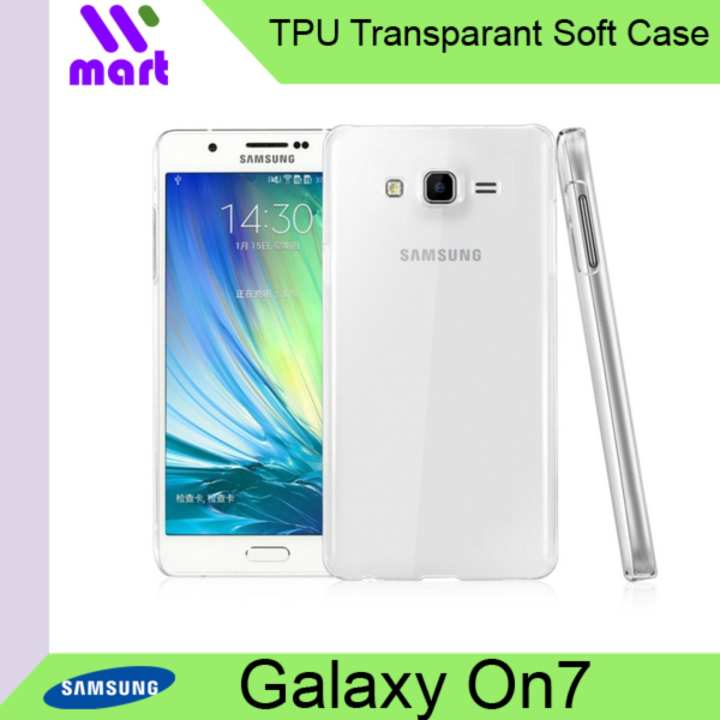 Transparent Case TPU for Samsung Galaxy On7 / J7 Prime