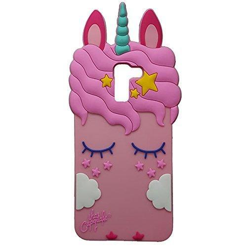 3D Cartoon Soft Silicone Rubber Cool Fun Cute Fashion Hot Case for Samsung Galaxy A8 Plus