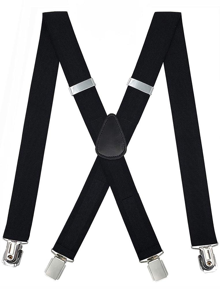 "1.5/"" Wide Men Women Clip on Suspender Elastic Y-Shape Adjustable Brace Fashion"