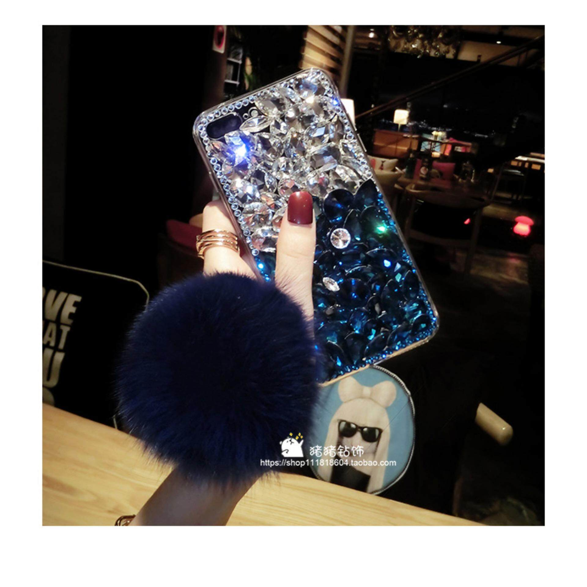 Luxury Bling Mix Colors Crystal Diamond Case Cover For VIVO V7 Plus