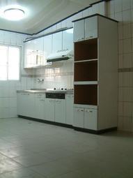 【大雅岡林直營廚具】素雅風 ST檯面240公分.電器櫃含三機+五金最便宜價錢給您保證