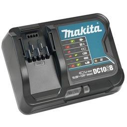 附發票,稅前1300~桃園工具-Makita牧田 DC10SB 12V,充電器 滑軌鋰電用 單售充電器*1
