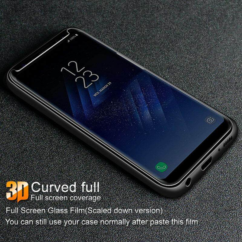 Imak Amazing 3D Full Cover Tempered Glass For Samsung Galaxy S9