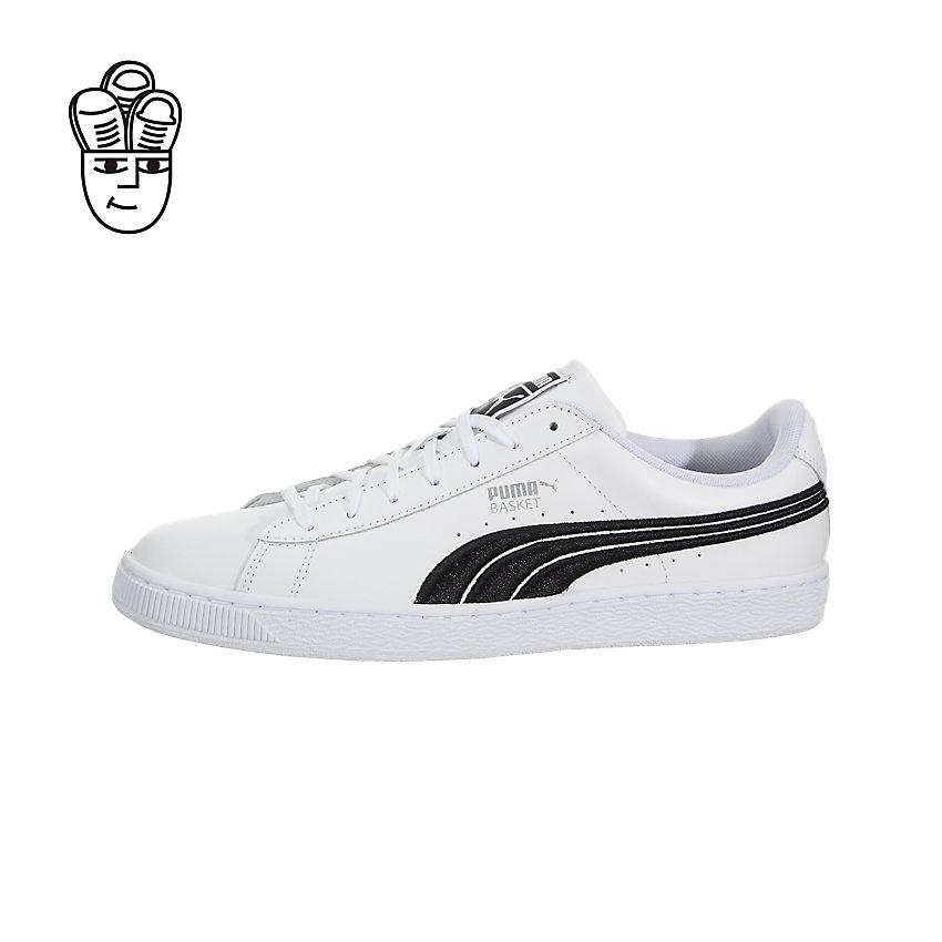 Puma Basket Classic Badge Retro Shoes Men 36255001 -SH f2a68a1eac1