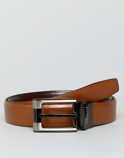ab9d328f2c7e Ted Baker Crafti Smart Leather Reversible Belt