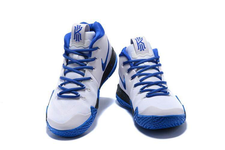 ed062f9b559d8b size 40-45 Men Kyrie 4 s Dark Blue White Breathable Season s best rookie basketball  shoe