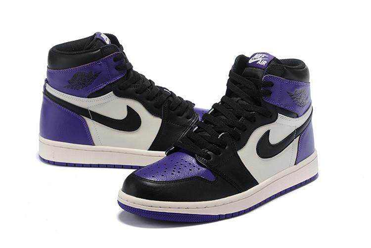 new styles e033a 824f2 Nike Original Michael Jordan 1 AJ Green Black Sneakers Air Jordan MENS  Basketaball Shoe MJ
