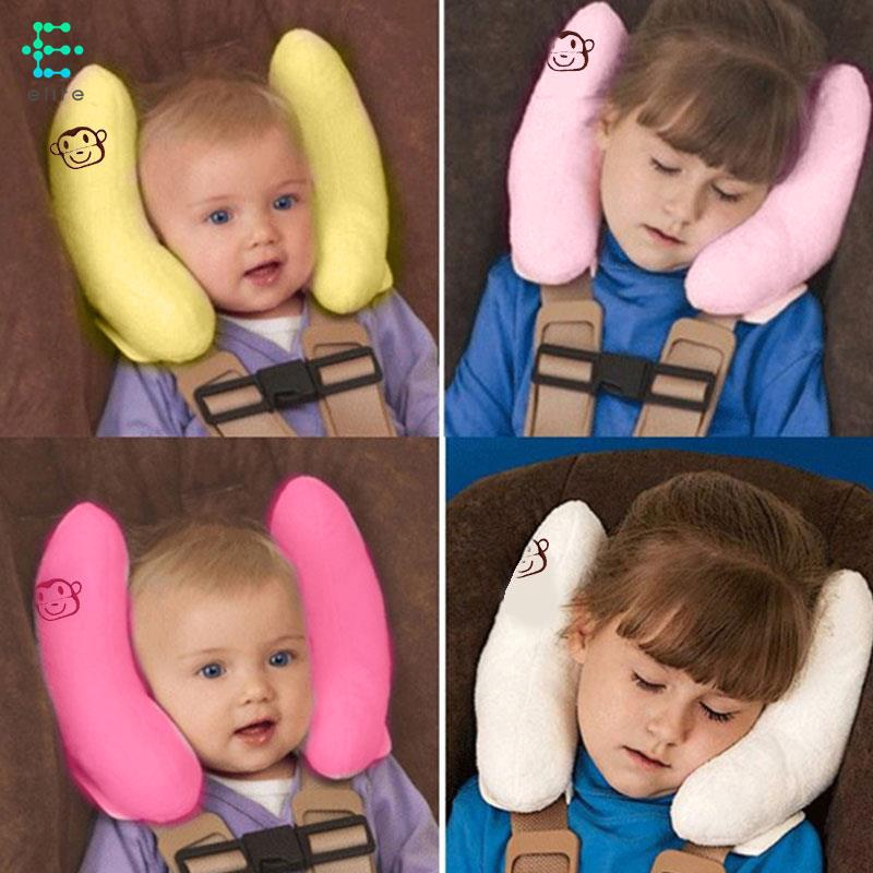 Baby Travel Pillow Cushion Adjustable Head Neck Support for Car Seat /& Stroller