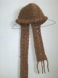 【尋寶園地】女用毛線圍巾連帽